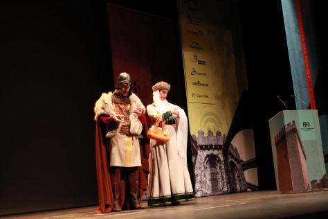 Gala de premios de la Fundación Patrimonio Histórico de Castilla y León.
