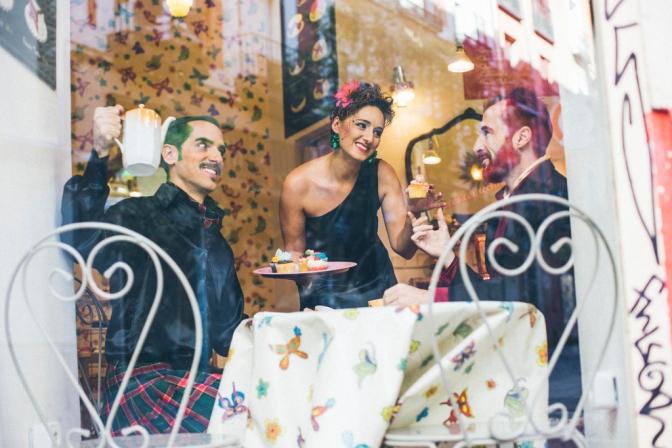 Entrevista a LOS ABSURDOS Teatro en la revista POP UP TEATRO