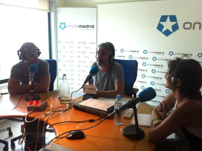 La entrevista más absurda de AQUÍ NO HAY PLAYA en Onda Madrid