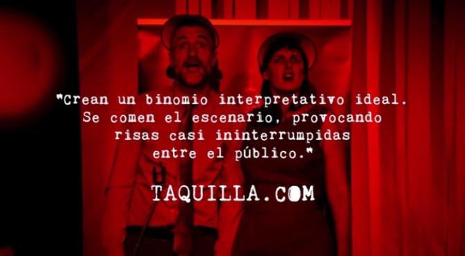 TAQUILLA.COM SE UNE A LA PROTESTA