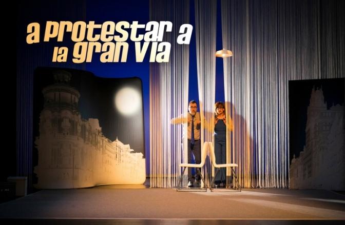 Última protesta en el Teatro Lara