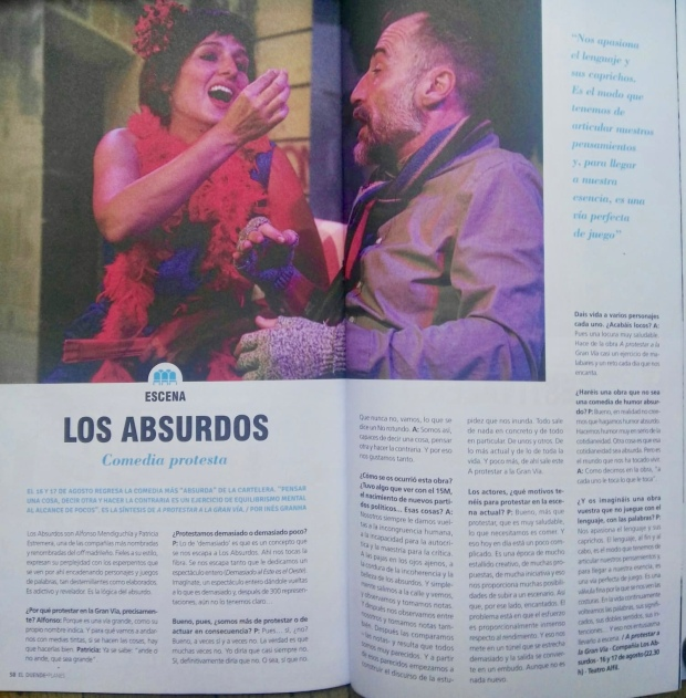 Los Absurdos Teatro. Revista El Duende.