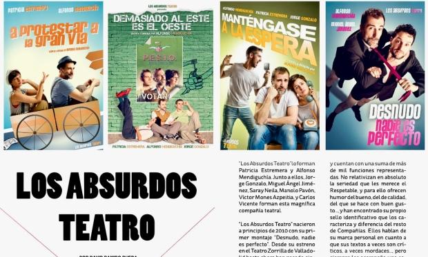 Reportaje a Los Absurdos Teatro. Vim Magazine.
