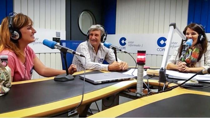 Antonio Fuentes (director del Teatro Lara) y nuestra absurda charlan en Más Cope Madrid